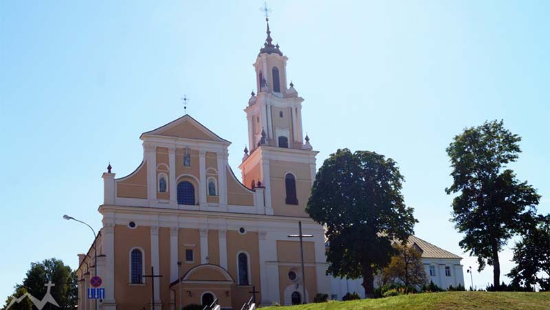 Фото Бернардинский костел в Гродно