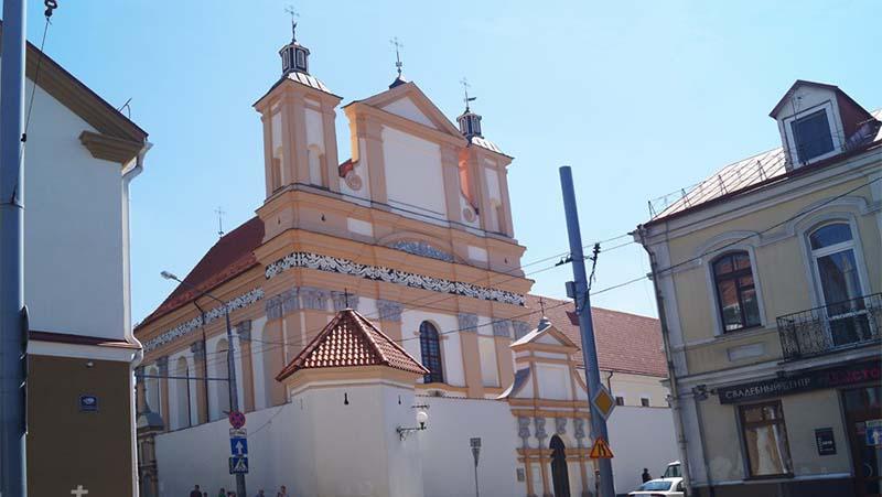 Фото Бригитский костел в Гродно