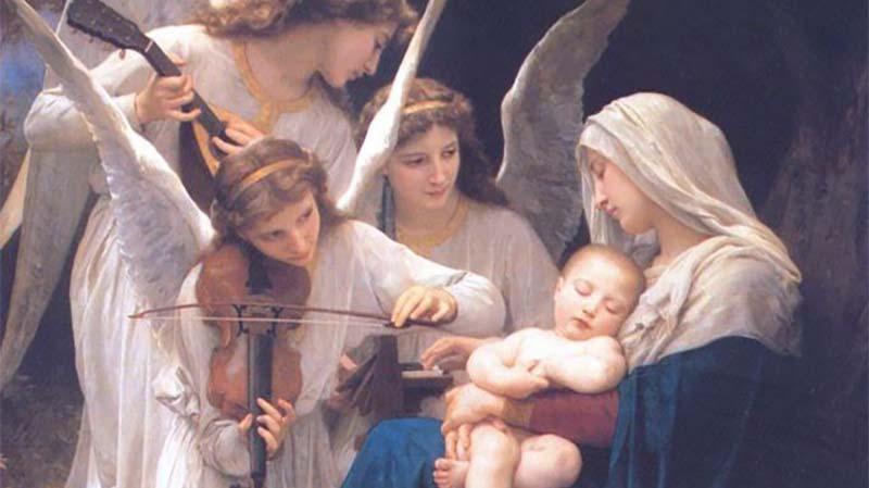 Фото Дева Мария с Младенцем Иисусом