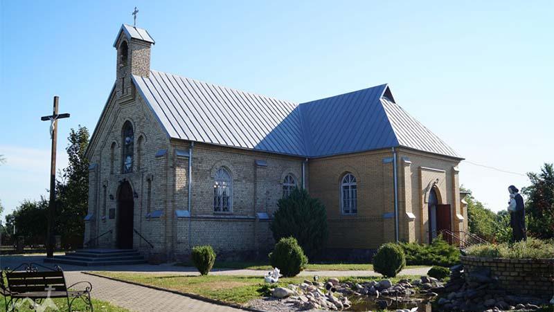 Фото костел в Грандичах в Гродно