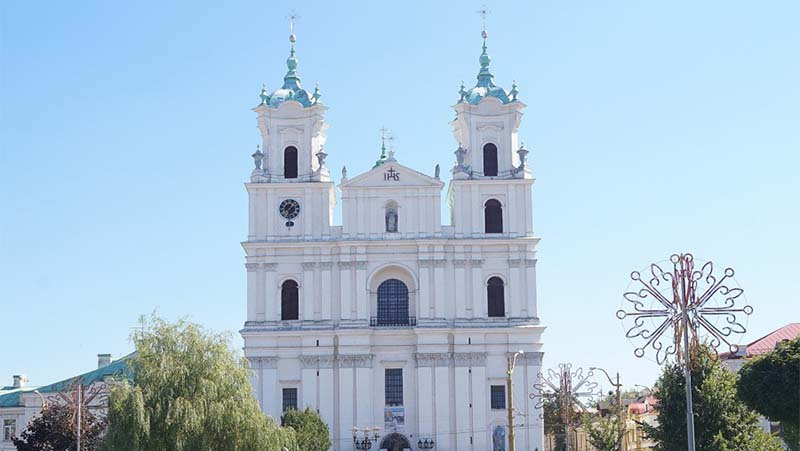Фото собор Святого Франциска Ксаверия в Гродно