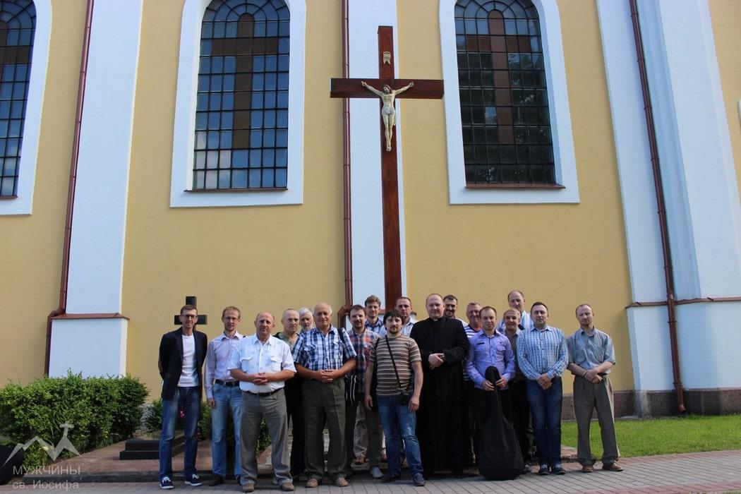 Группа мужчин католиков Мужчины Святого Иосифа