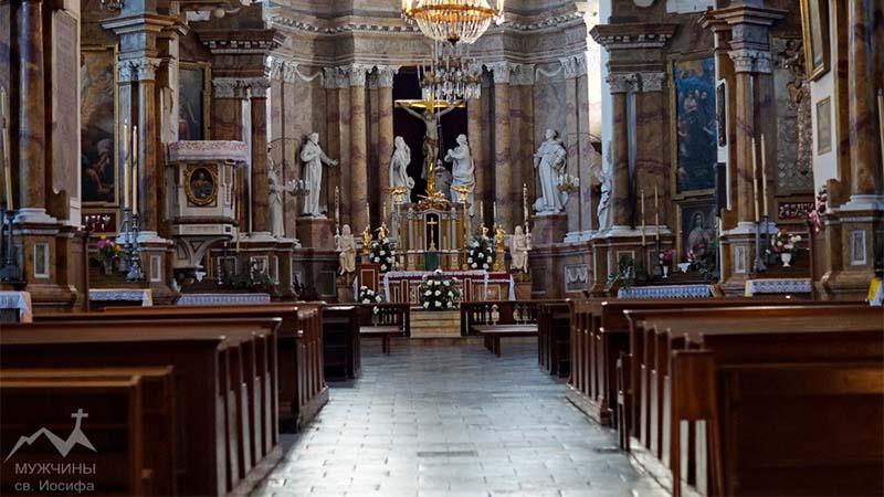 Костел и монастырь бернардинцев в Гродно