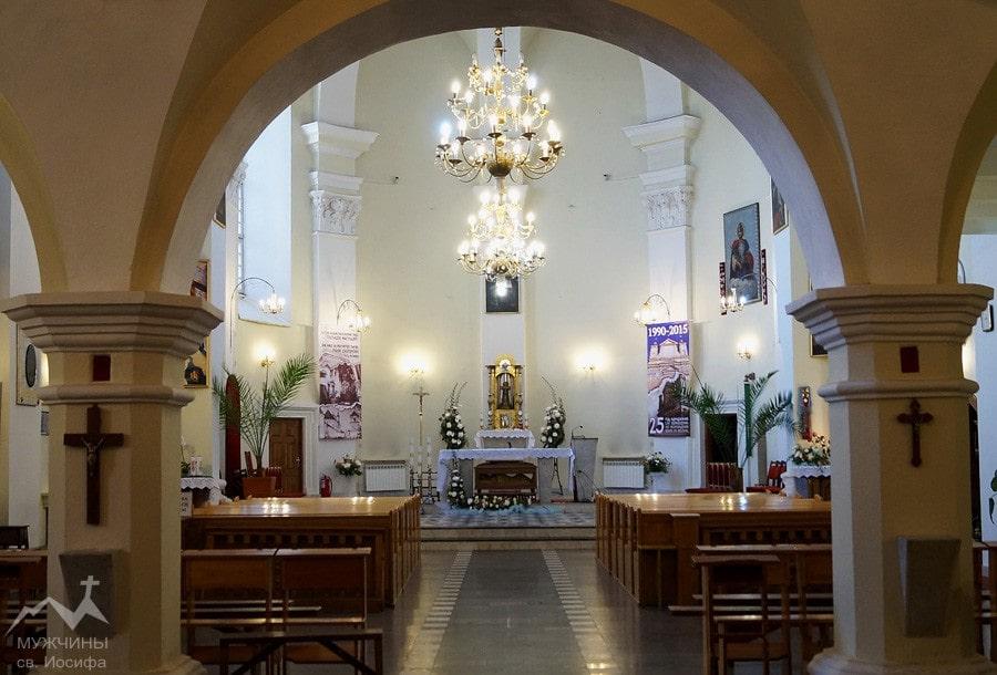 Ректоральный костел Благовещения Пресвятой Девы Марии в Гродно