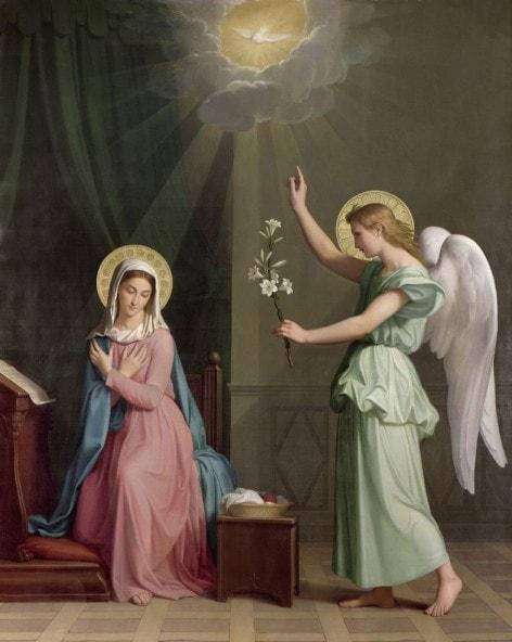 Икона Благовещение Пресвятой Богородицы Господне