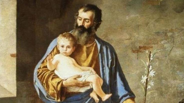 Икона Святой Иосиф, обручник, главы и покровитель Святого семейства, труженик