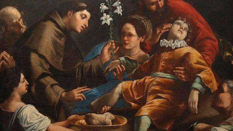 Чудеса Святого Антония Падуанского, икона