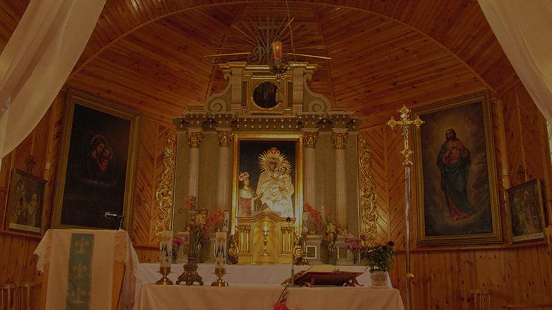 Трокельская икона Девы Марии фото