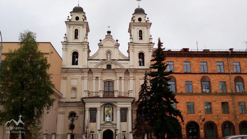 Кафедральный костел в Минске фото