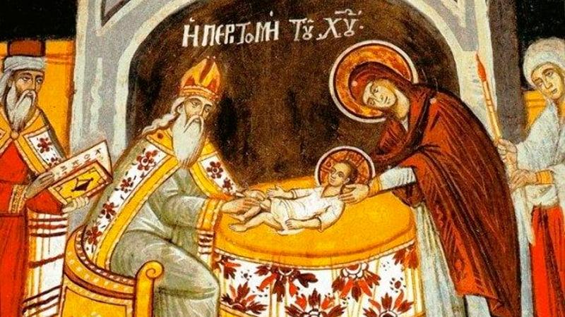 Обрезание Господне (Иисуса Христа) икона