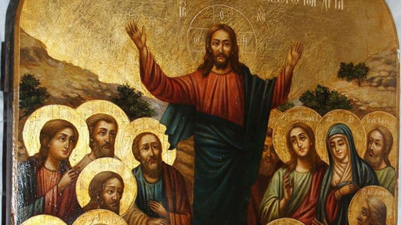 Икона Вознесение Господне картинка