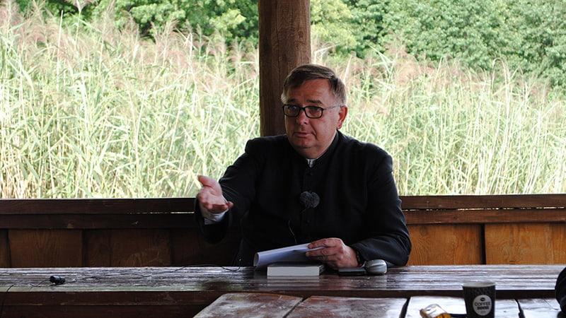 Отец Томаш Ксёнжкевич CMF мужские реколлекции в Озерах